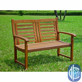International Caravan Trinidad Acacia Hardwood Bench