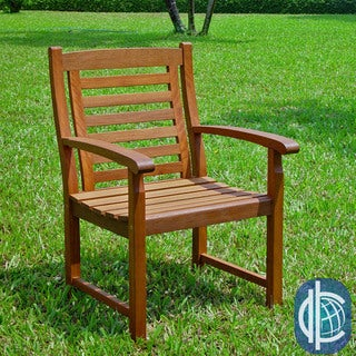 International Caravan Trinidad Acacia Hardwood Chairs (Set of 2)