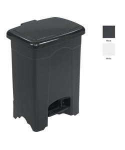 Safco Four-gallon Polyethylene Plastic Durable Step-on Trash Can