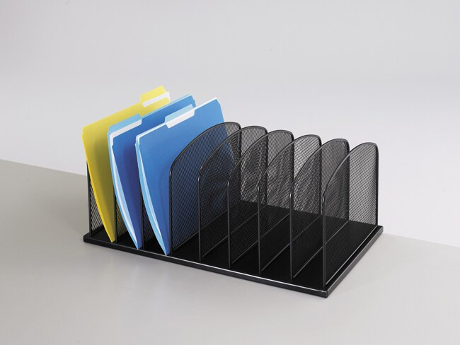 Safco 8 tier mesh desk organizer 11179567 overstock - Mesh desk organizer ...
