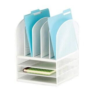 Safco 8-section Mesh Desk Organizer