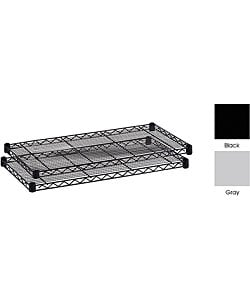 Safco Steel Wire Shelves (Case of 2)