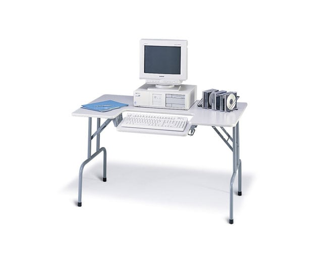 Safco Folding Computer Table 11179618 Overstock Com