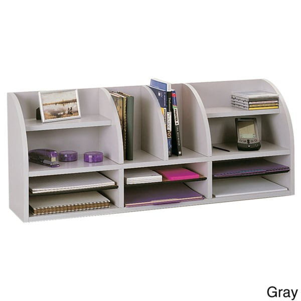 Safco radius front desktop organizer x 38 5 39 x - Desk organization products ...