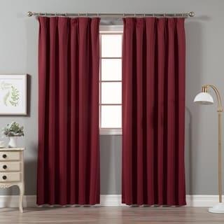 Lights Out Pleated 84-inch Blackout Curtain Pair