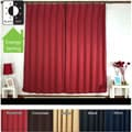 Pleated 84-inch Blackout Curtain Pair