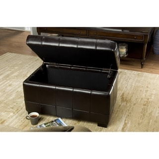 Safavieh Small Brown Manhattan Storage Bench