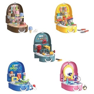World Tech Toys Backpack Pretend Play Portable Playset