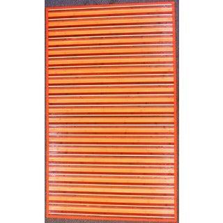 Rust Bamboo Area Rug (4' x 6')