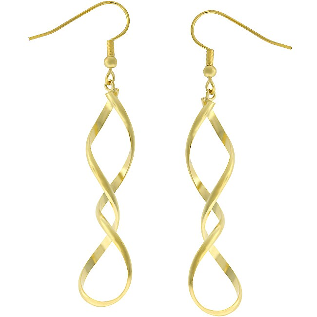 Kate Bissett Goldtone Drop Earrings