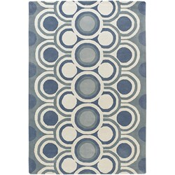Hand-tufted Mandara Wool Area Rug (5' x 8')