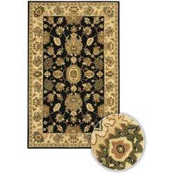 Hand-Tufted Mandara Oriental Wool Rug (5' x 8')