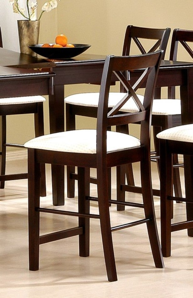 X-style Cappuccino Counter Stools (Set of 2)