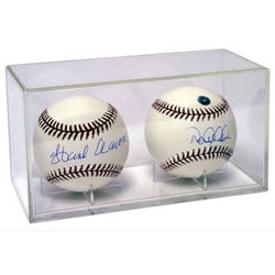 Acrylic Double Baseball Cubes (Case of 36)
