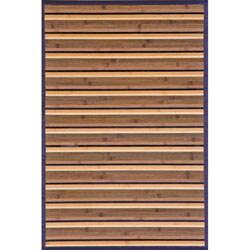 Beige Bamboo Area Rug (5' x 7')