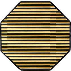 Gray Bamboo Rug (3' Octagonal)