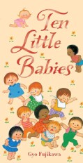 Ten Little Babies (Board book)