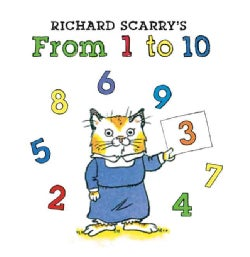 Richard Scarry's from 1 to 10 (Board book)