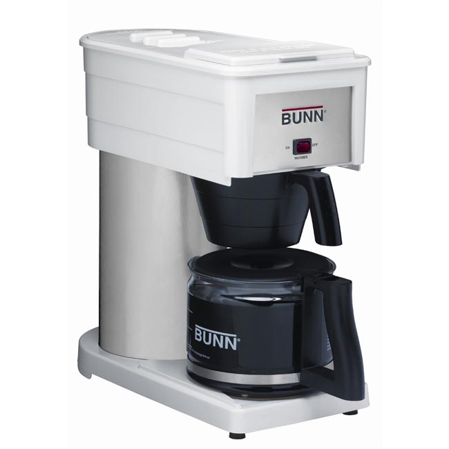 Bunn Coffee Maker Overstock : Bunn BXW White 10-cup Velocity Home Coffee Brewer - 11190074 - Overstock.com Shopping - Great ...