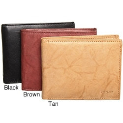 Kozmic Handcrafted Leather Bi-Fold Wallet