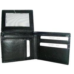Kozmic Leather Bi-fold Wallet