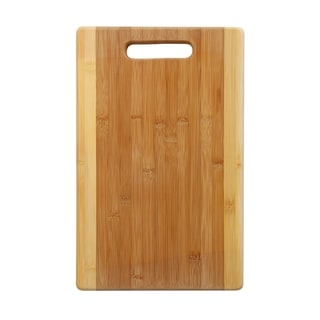 YBM Home Bamboo Cutting Board with Handle