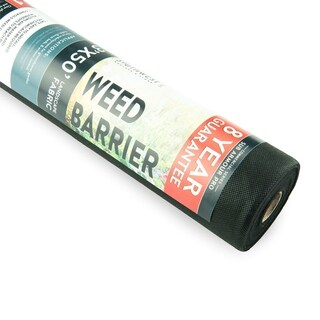 Weed Barrier - Landscape Fabric for Outdoor Gardens,Black Commercial Grade Weed Block Cloth
