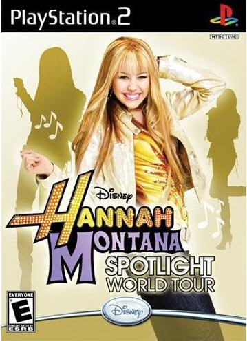 PS2 - Hannah Montana: Spotlight World Tour