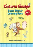 Curious George Super Sticker Coloring Book (Paperback)