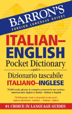 Barron's Italian-English Pocket Dictionary/ Dizionario Tascabile Italiano-Inglese (Paperback)