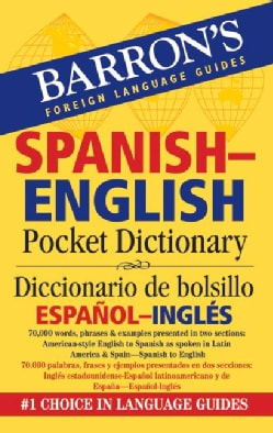 Barron's Spanish-English Pocket Dictionary / Diccionario de Bolsillo Espanol-Ingles (Paperback)