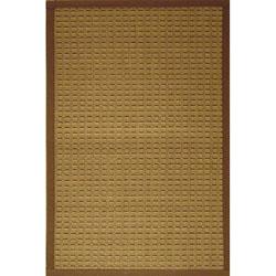 Brown Woven Bamboo Rug (2' x 7')