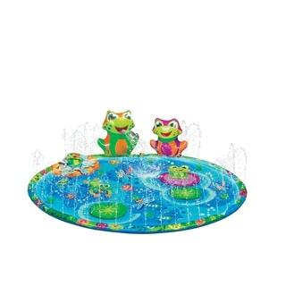 Banzai Froggy Pond Splash Mat Sprinkler - Outdoor Toy