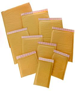 Recycled-paper Self Seal #0 6.5x10-inch Bubble Mailers (Case of 250)