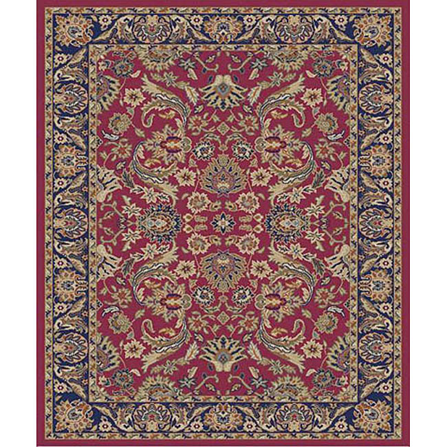 Sultanabad Red Rug (5'3 x 7'3)
