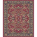 Sultanabad Red Polypropylene Rug (5'3 x 7'3)