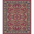 Sultanabad Red Polypropylene Rug (7'10 x 10'10)