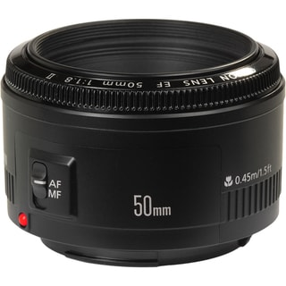 Canon EF 50mm f/1.8 II Standard &amp; Medium Telephoto Lens