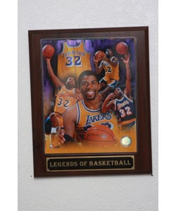 Magic Johnson Collectible Plaque
