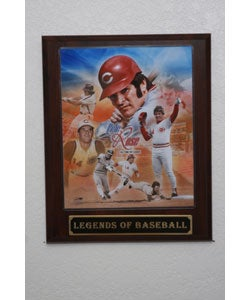 Pete Rose Collectible Plaque