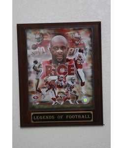 Jerry Rice Plaque