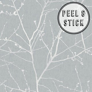 Transform Duck Egg Branches Peel and Stick Wallpaper