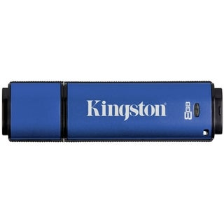 Kingston 8GB DataTraveler Vault Privacy Edition USB 2.0 Flash Drive