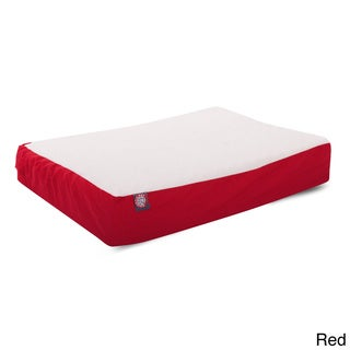 Orthopedic Large 34 in. x 48 in. Double Dog Waterproof Denier Pet Bed