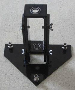 Water Warden Black Custom-made Stainless Steel Drilling Guide Tool