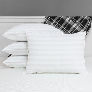 Egyptian Cotton Hypoallergenic Poly-fill Pillows (Set of 4)