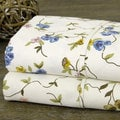 Floral Print Cotton Blend Sheet Set
