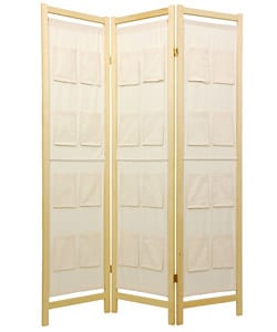 Room Divider with Pockets (China)