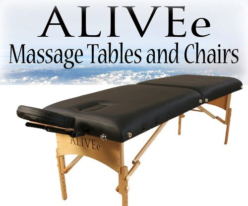 ALIVEe Signature II Light Black Massage Table