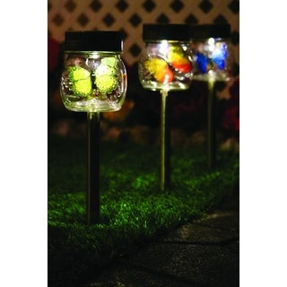 Solar Butterfly Jar 3 Pack